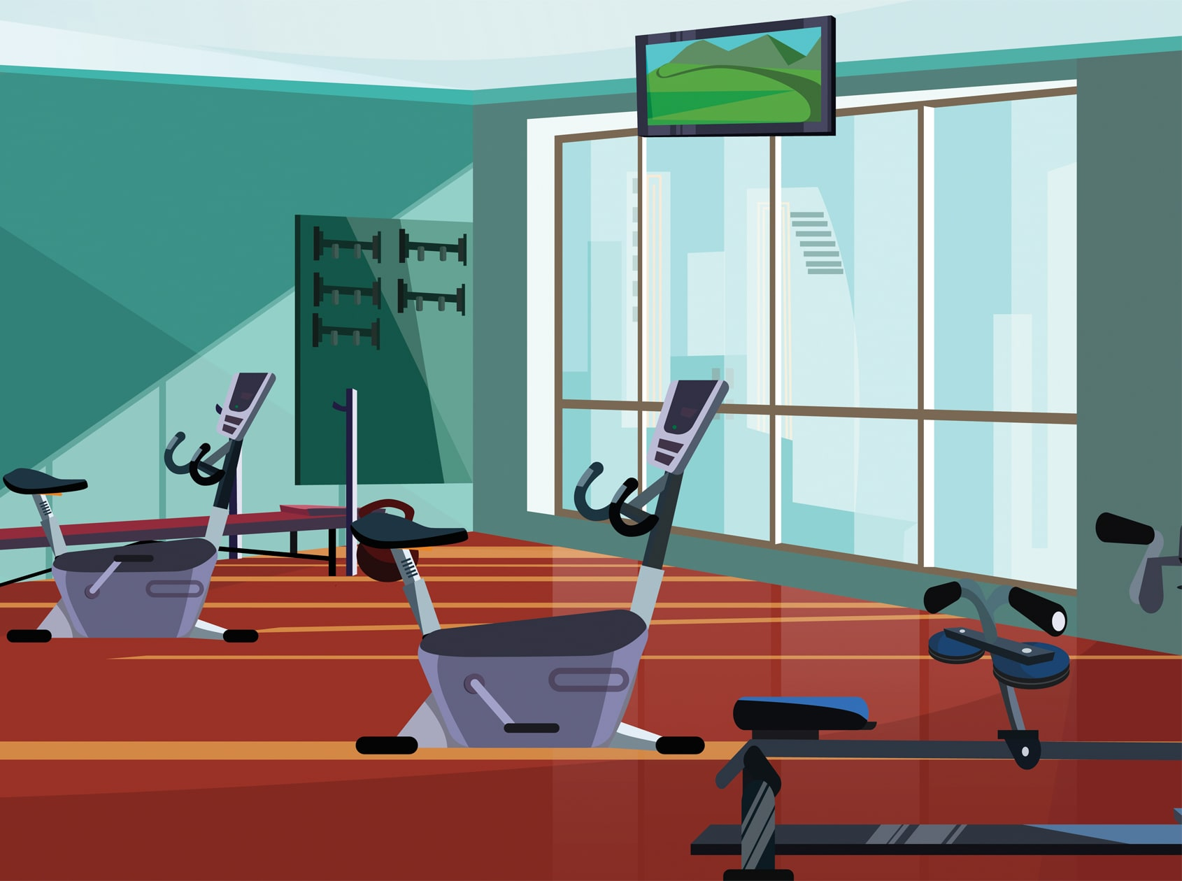 Trio Apartments - Fitness Center